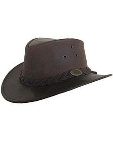 d94fef4cb09 Jacaru Men s Gabba Stonewash Leather Hat
