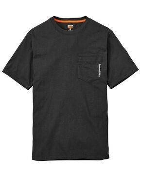 Timberland Pro Men's B&T Base Plate Blended Short Sleeve Work T-Shirt - Big , Black, hi-res