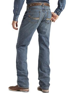 Ariat Men's M2 Smokestack Relaxed Boot Cut Jeans, Denim, hi-res