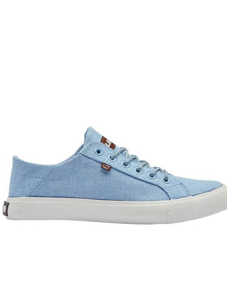 Lamo Footwear Women's Blue Vita Casual Shoes - Round Toe, Light Blue, hi-res
