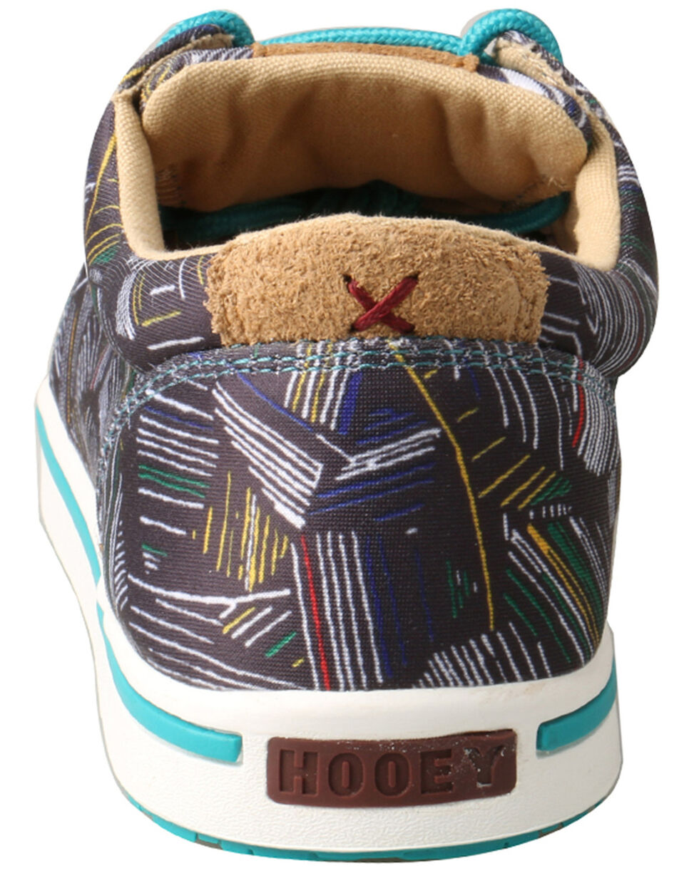 Twisted X Youth Boys' HOOey Loper Shoes - Moc Toe, Grey, hi-res