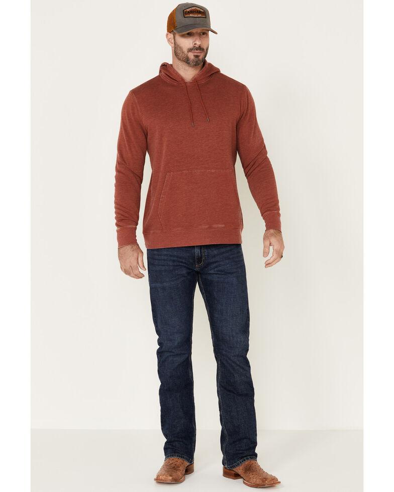 Flag & Anthem Men's Red Colerain Burnout Fleece Hooded Sweatshirt , Red, hi-res
