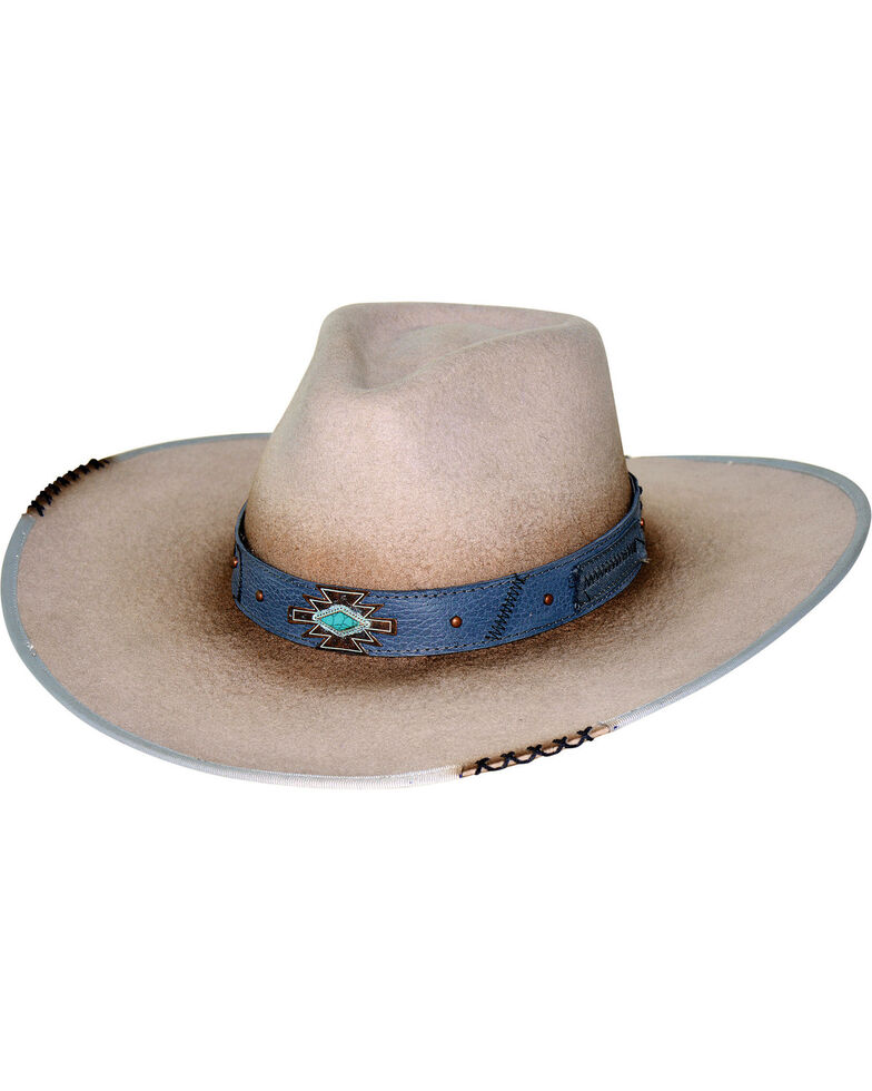 Bullhide Messed Up Wool Cowboy Hat , Silver Belly, hi-res