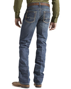 Ariat Men's Gulch M5 Low Rise Straight Leg Jeans, Med Wash, hi-res