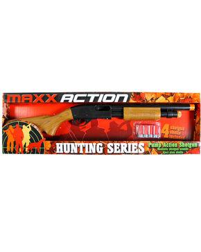Maxx Action Pump Action Shotgun, Brown, hi-res
