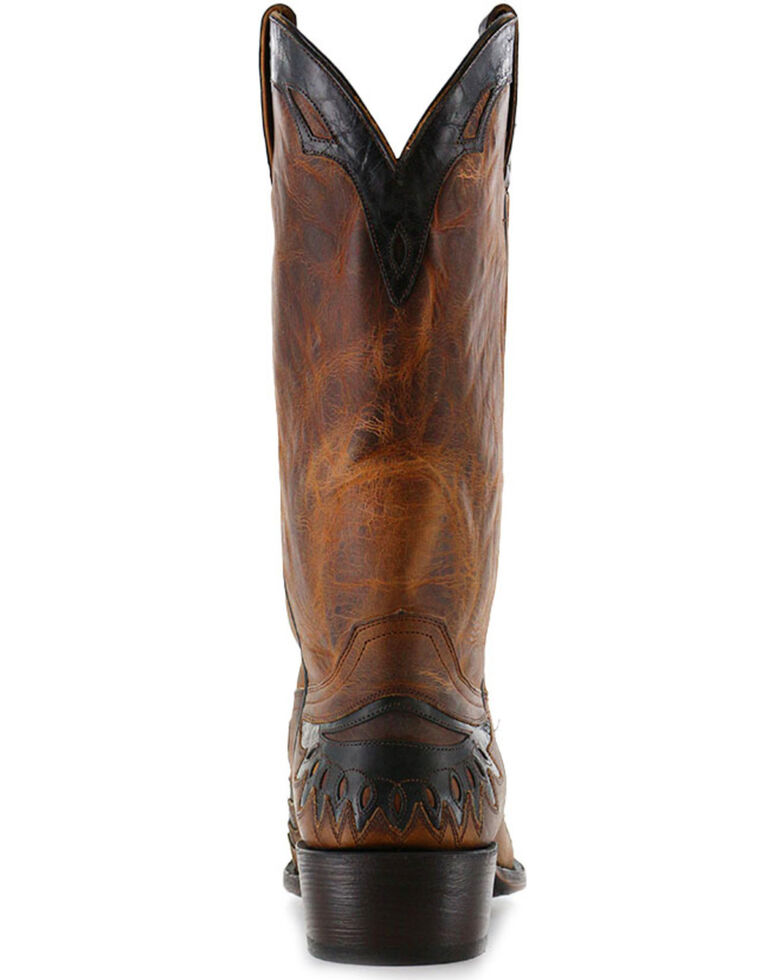 Moonshine Spirit Men's Eagle Overlay Western Boots, , hi-res