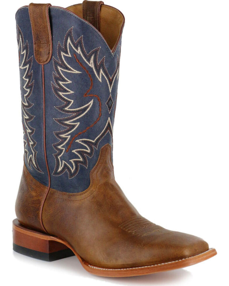 Cody James® Men's Montana Square Toe Western Boots , Brown, hi-res