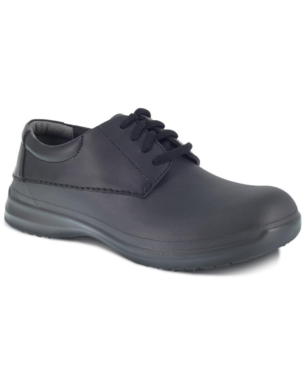 Grabbers Men's Literush Slip Resisting Work Boots - Soft Toe, Black, hi-res