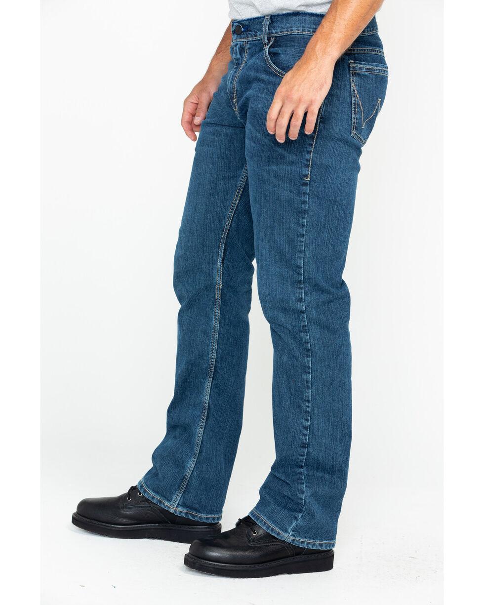 Wrangler Men's FR Advanced Comfort Slim Boot Work Jeans - Long , Blue, hi-res