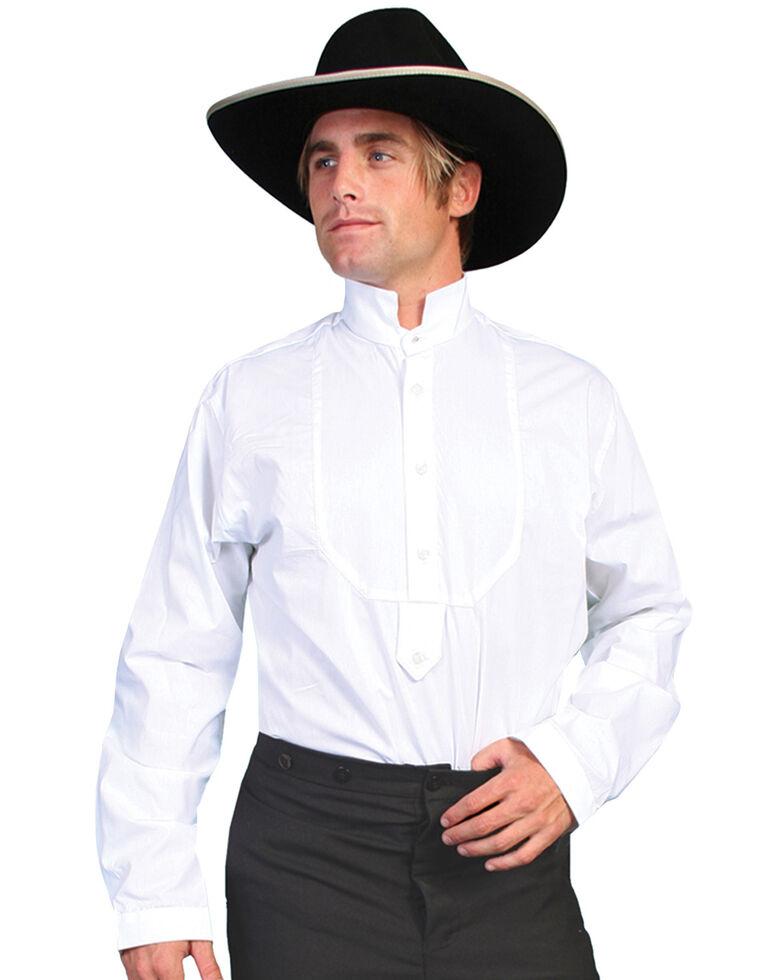 Rangewear by Scully High Collar Bib Front Shirt - Big & Tall, White, hi-res