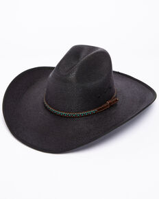 Cody James Men s Black Palm Duke Crease Cowboy Hat 0240cd15e19