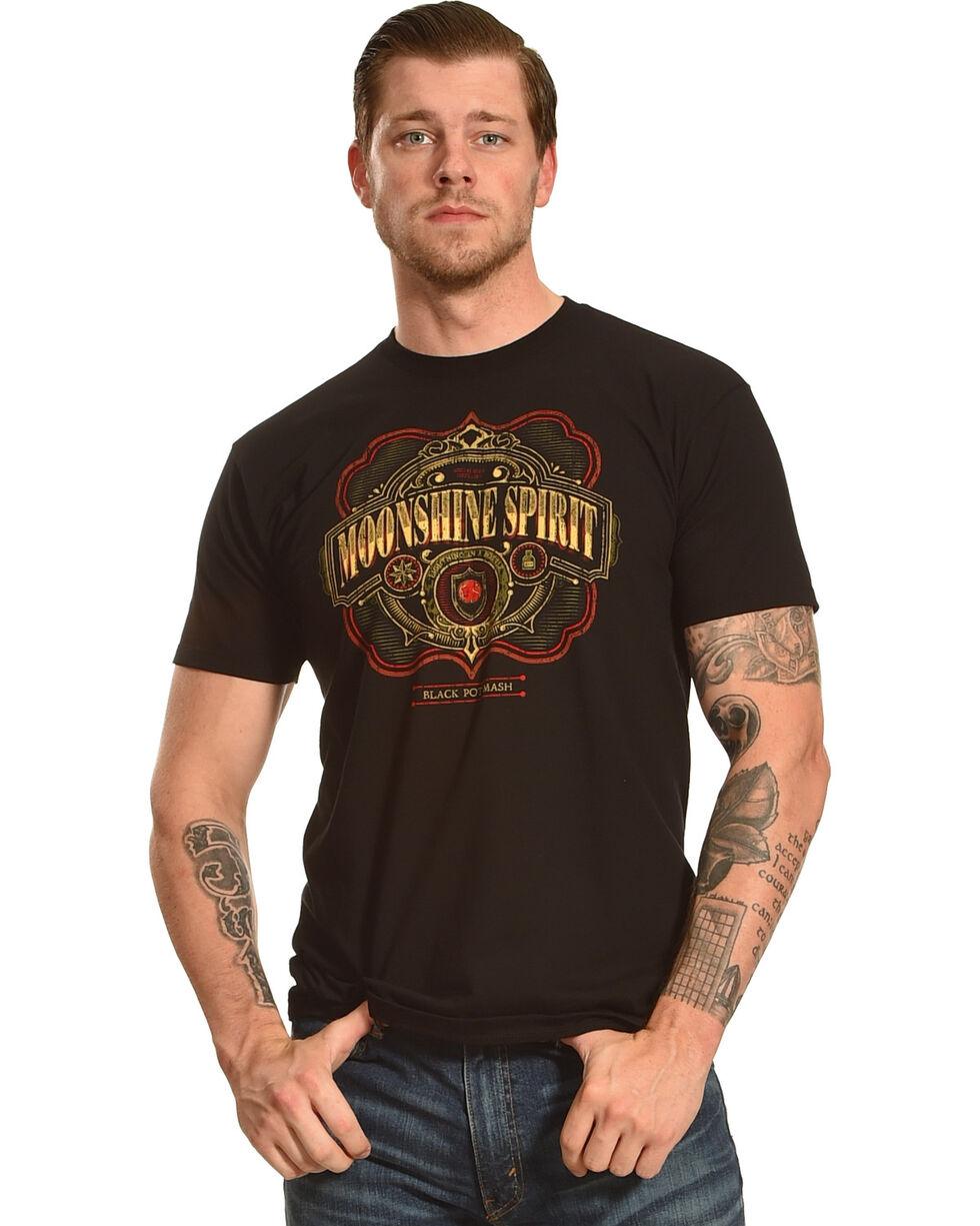Moonshine Spirit® Black Pot Mash Graphic T-Shirt, Black, hi-res