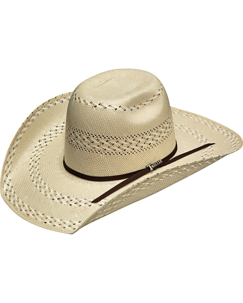Twister Men's Ivory 20X Shantung Punchy Hat , Ivory, hi-res