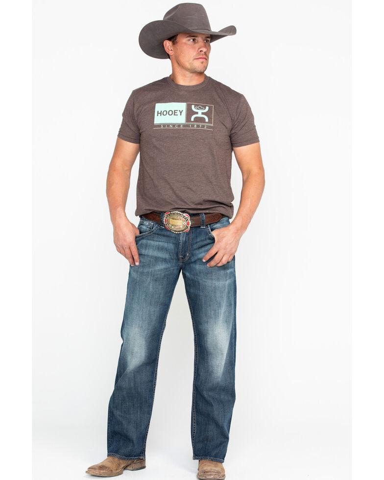 Hooey Men's Roots Since 1872 Graphic Logo T-Shirt , Brown, hi-res