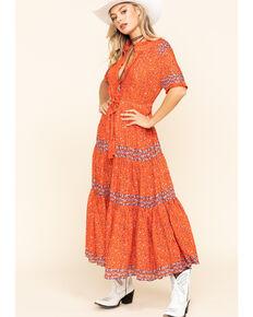 Free People Women's Rare Feeling Dress, Red, hi-res