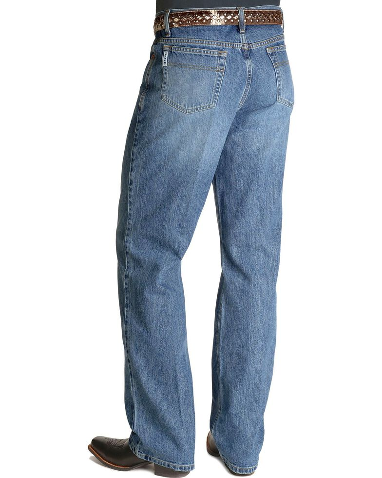 b7972218 Zoomed Image Cinch Men's White Label Relaxed Fit Stonewash Jeans,  Stonewash, hi-res