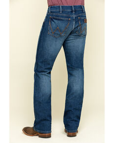Wrangler Retro Men's Luling Stretch Slim Boot Jeans , Blue, hi-res