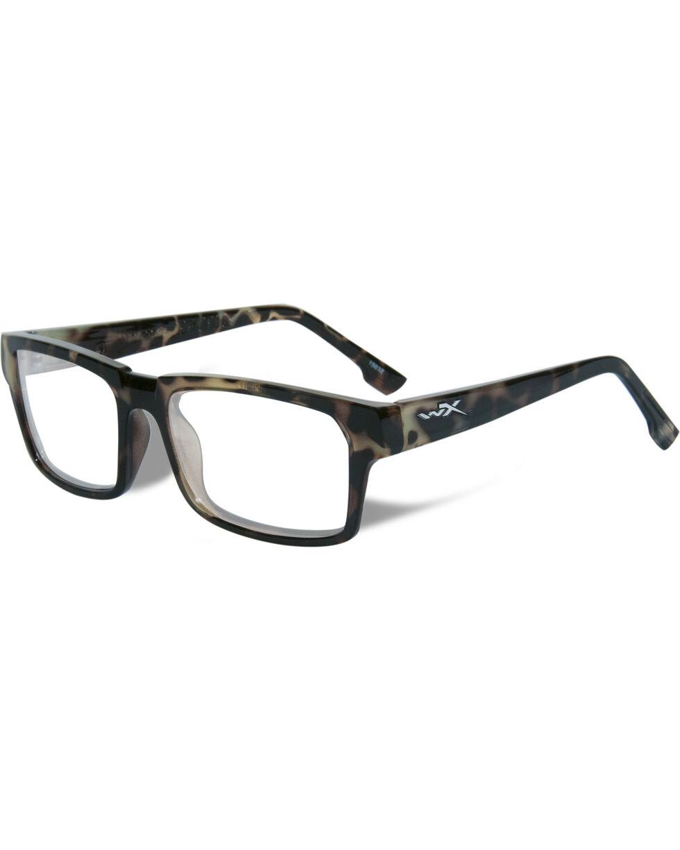 Wiley X Men's WX Profile Gloss Green Demi Glasses , Green, hi-res