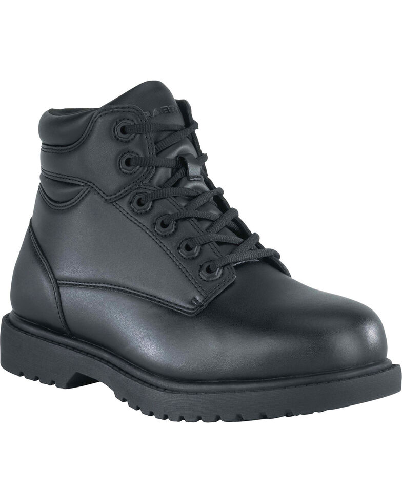 "Grabbers Men's Kilo 6"" Work Boots - Steel Toe, Black, hi-res"