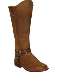 "Abilene Women's 15"" Equestrian Wellington Boots, Tan, hi-res"