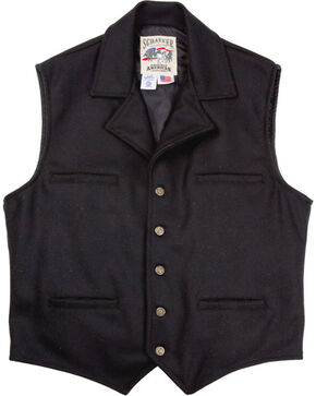 Schaefer Men's Cattle Baron Vest - 2XL, Black, hi-res