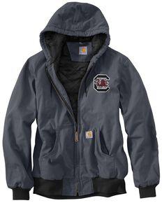 Carhartt University of South Carolina Gamecocks Sandstone Active Jacket, Blue, hi-res