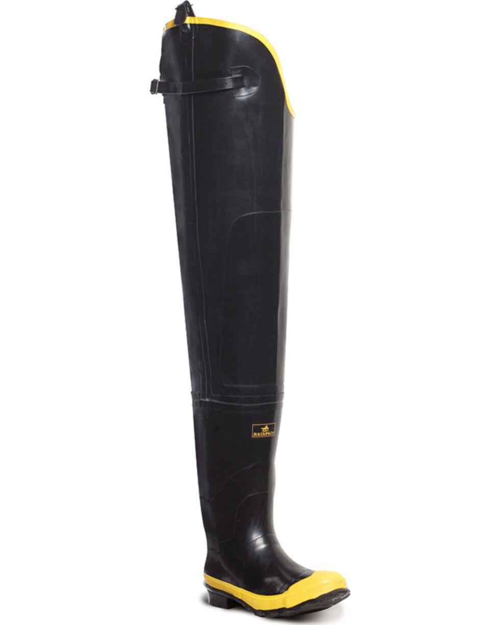 "Lacrosse Men's Economy 32"" Steel Toe Hip Boots, Black, hi-res"