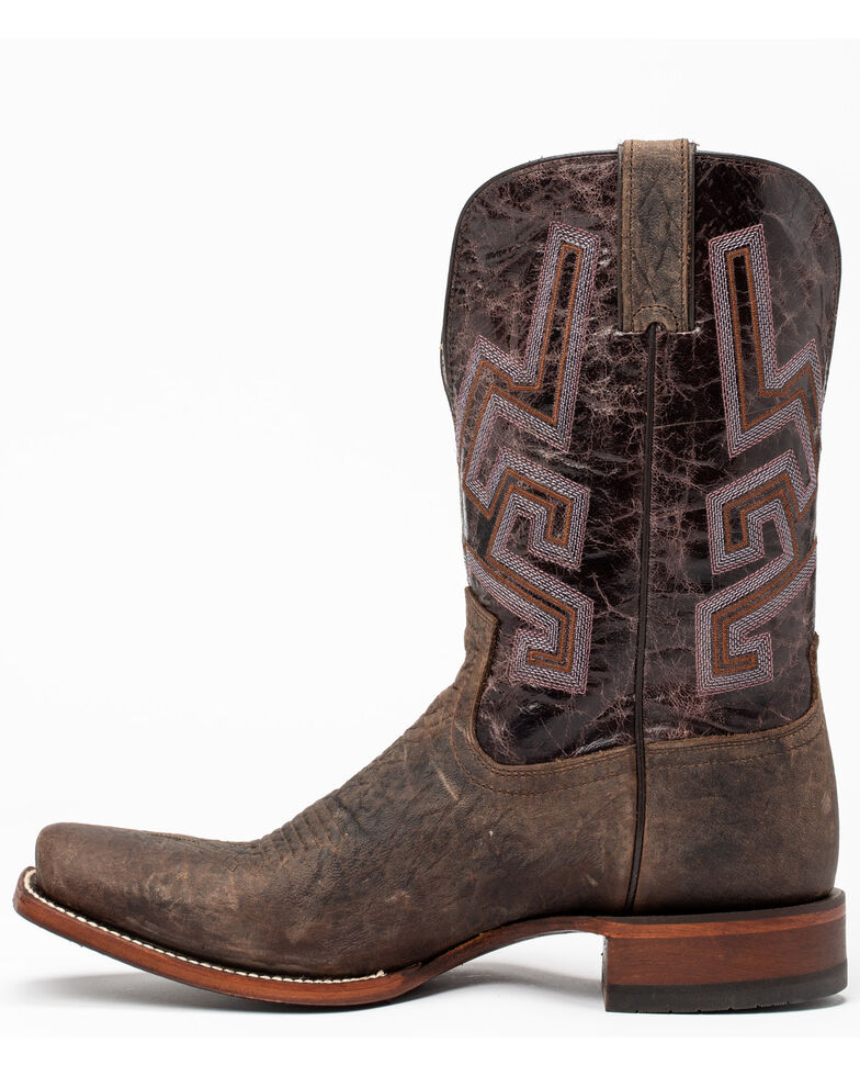 Cody James Men's Chivalrous Western Boots - Narrow Square Toe, Chocolate, hi-res