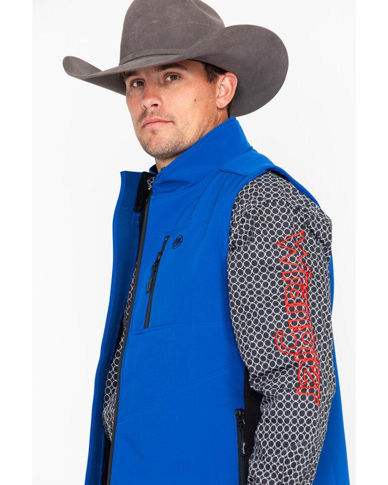 Wrangler Men's Trail Vest, Blue, hi-res