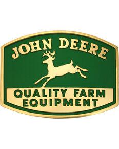 Montana Silversmiths John Deere Belt Buckle, Gold, hi-res