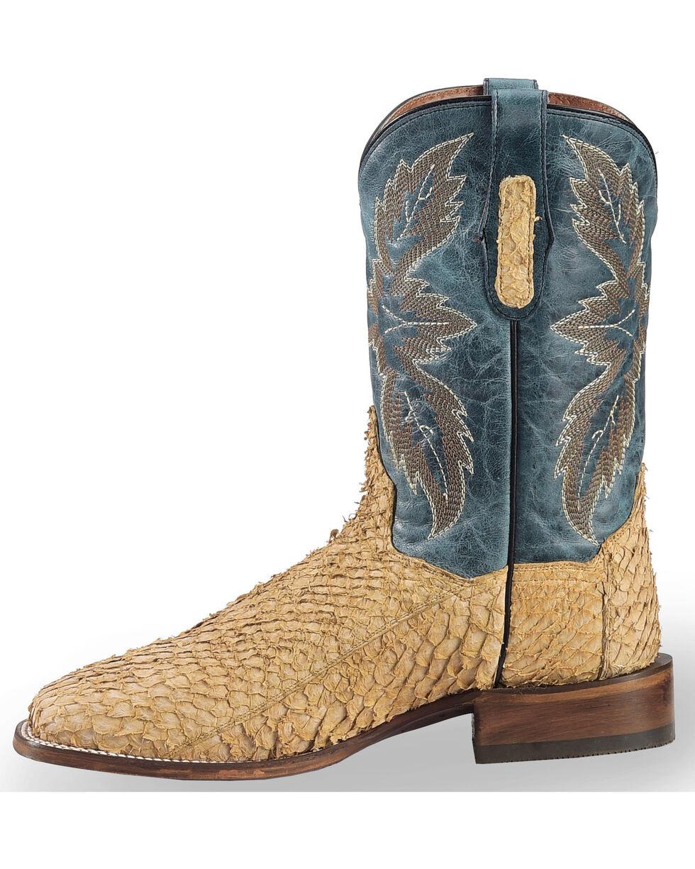 Dan Post Men's Sand Sea Bass Stockman Boots - Square Toe, Sand, hi-res