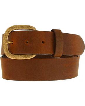 Justin Men's Leather Work Belt, Bark, hi-res