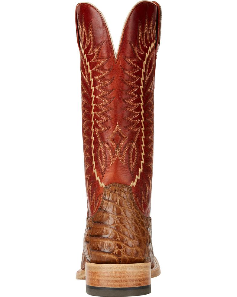 5dbd49115f4 Ariat Men's Relentless Gold Buckle Caiman Exotic Boots