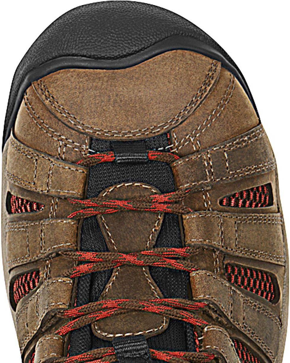 Keen Men's Flint Steel Toe Work Boots, Henna, hi-res