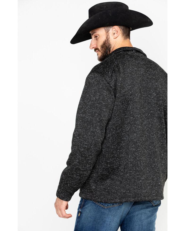 Ariat Men's Black Caldwell Full Zip Sweater , Black, hi-res