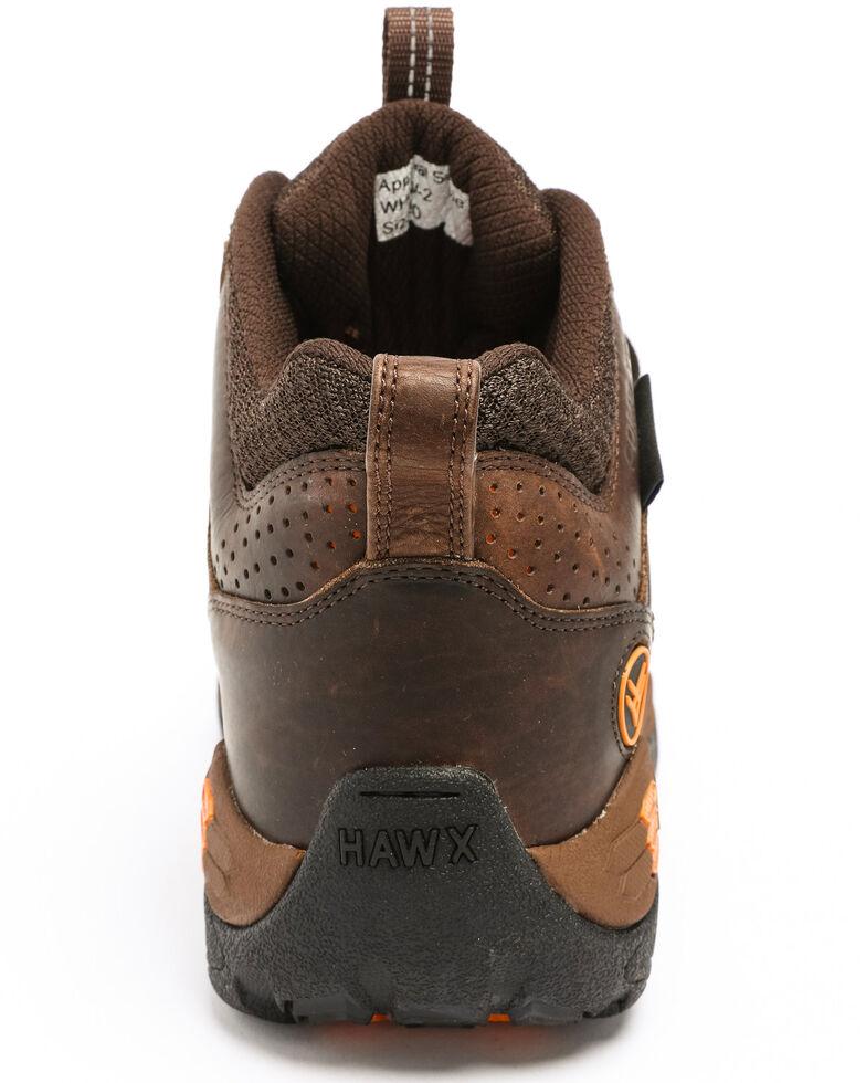 Hawx Men's Axis Waterproof Hiker Boots - Nano Composite Toe, Brown, hi-res
