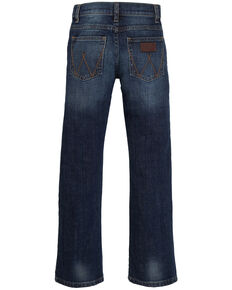Wrangler Retro Boys' 8-18 Low Slim Straight Jeans, Indigo, hi-res