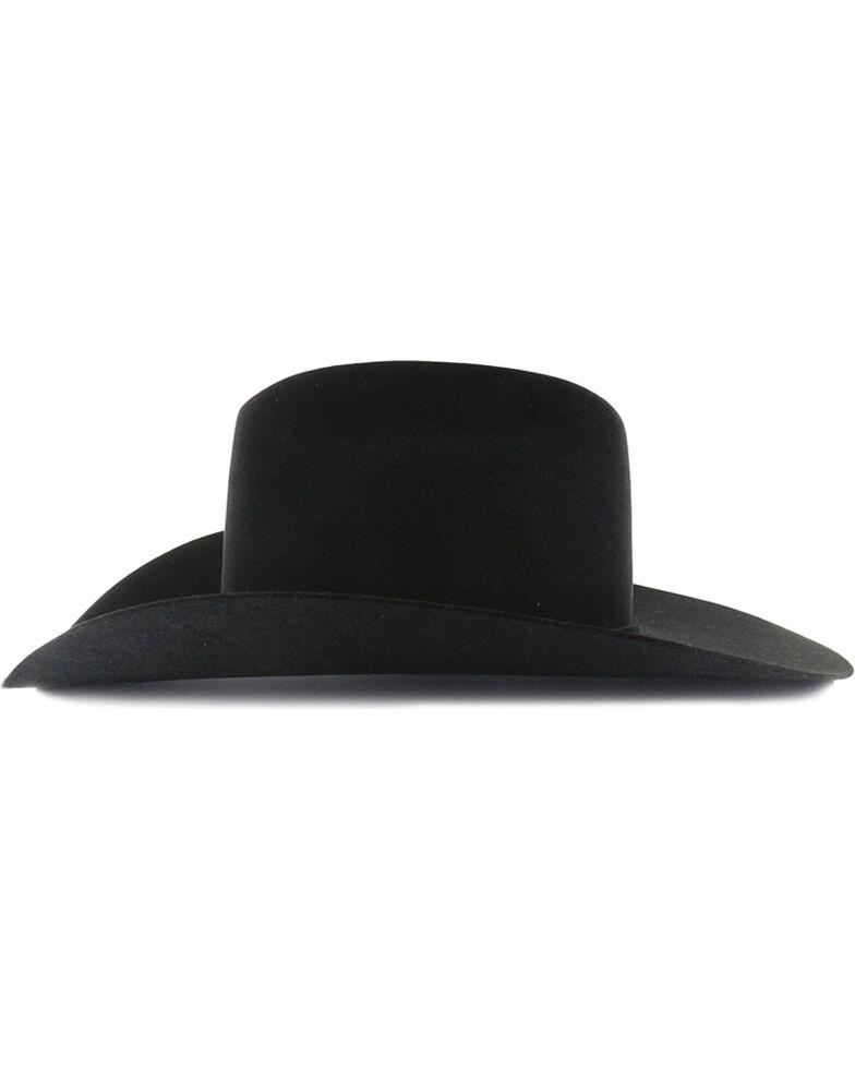 Rodeo King Rodeo 5X Black Felt Cowboy Hat, Black, hi-res