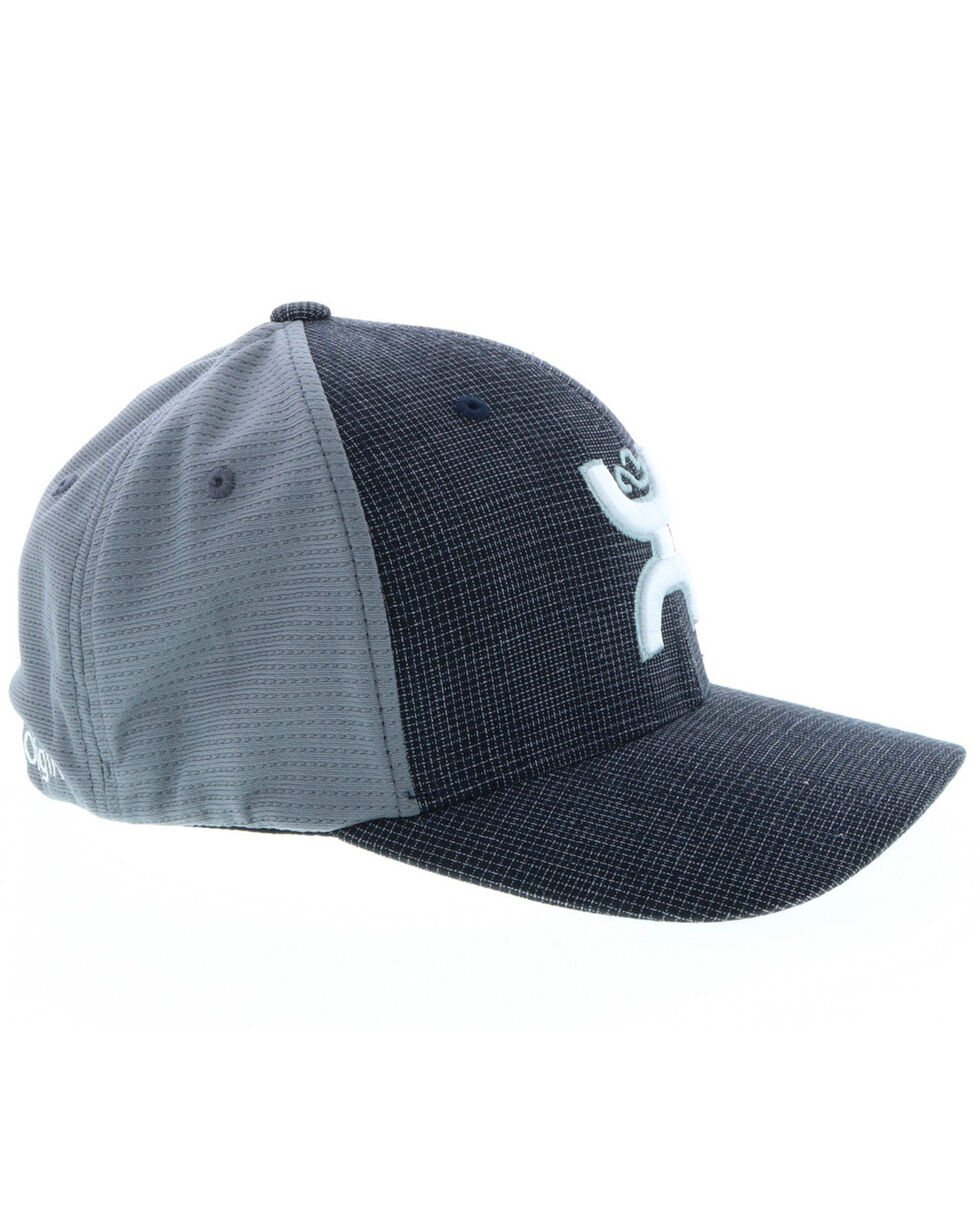 HOOey Men's Web Ball Cap, Black, hi-res