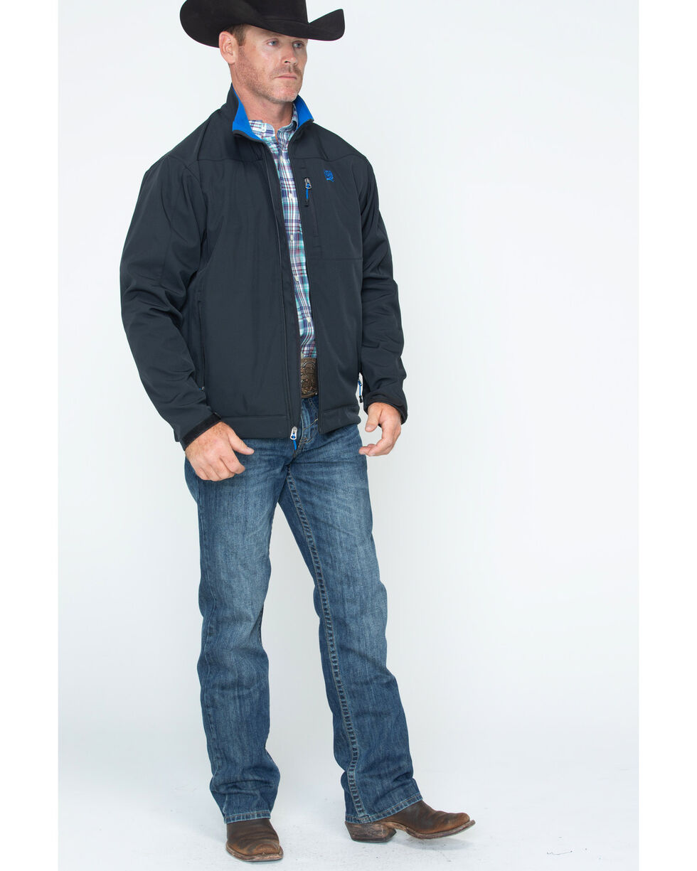 Cinch Men's Black Conceal Carry Bonded Jacket , , hi-res