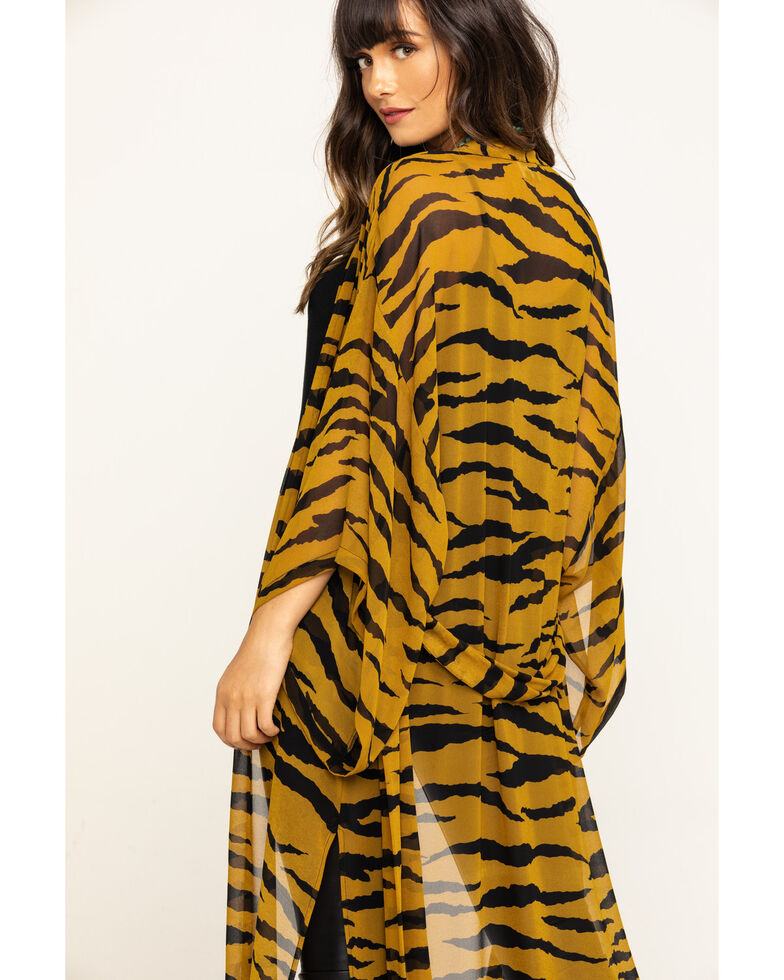 Show Me Your Mumu Women's Great Tiger Helena Kimono, Multi, hi-res