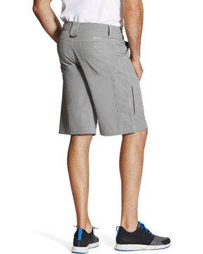 Ariat Men's Grey Tek Cargo Shorts , Grey, hi-res