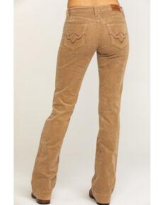 Shyanne Women's Camel Corduroy Bootcut Jeans, Camel, hi-res