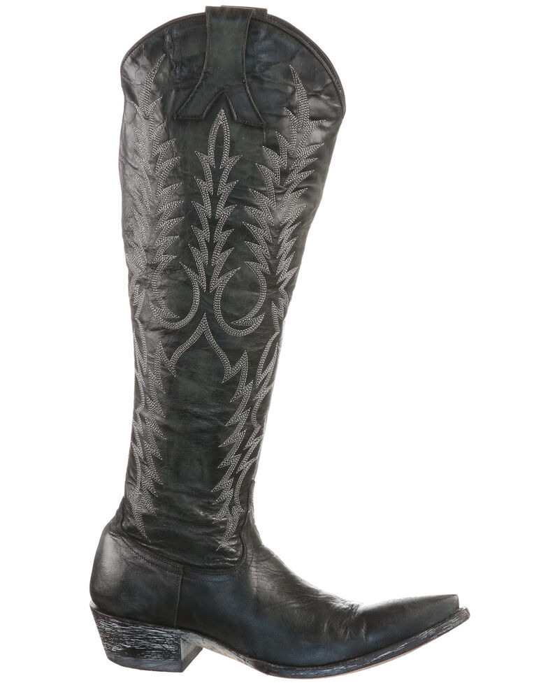 Old Gringo Women's Mayra Western Boots - Pointed Toe, Black, hi-res