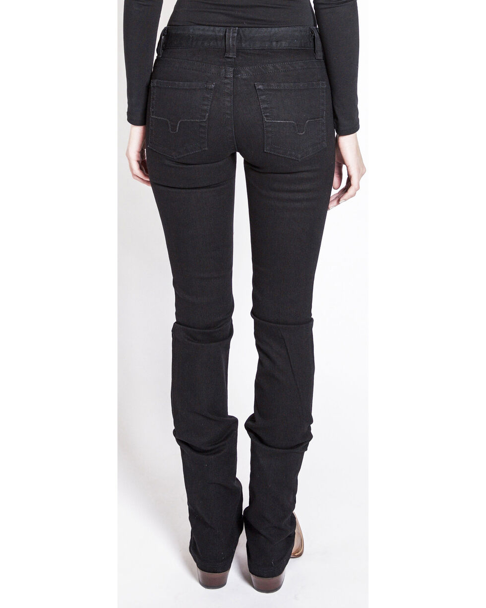 Kimes Ranch Women's Betty Black Modest Boot Cut Jeans, Black, hi-res