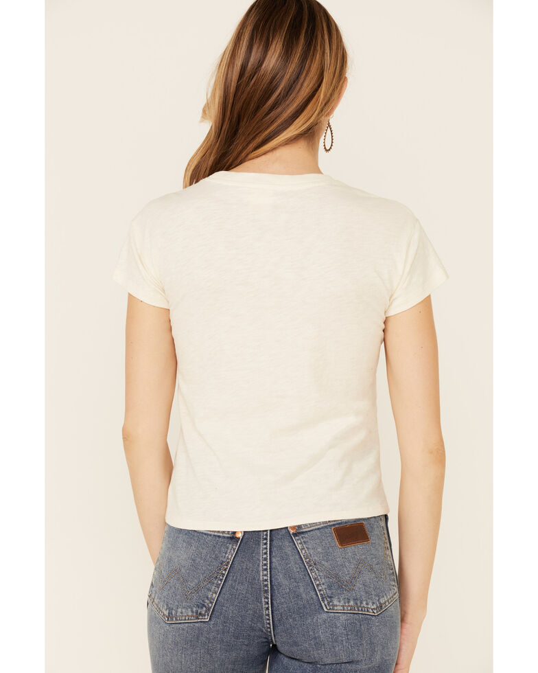 White Crow Women's Ride Off Into The Sunset Graphic Short Sleeve Tee , Ivory, hi-res