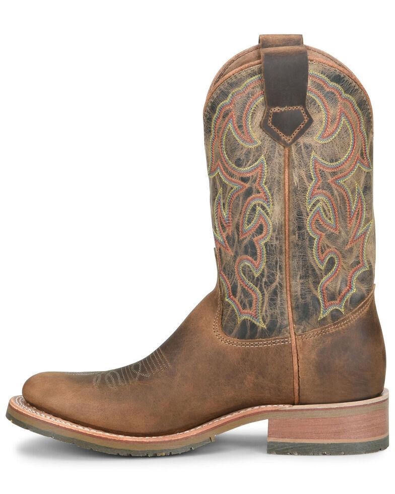 Double H Men's Jaison Western Boots - Round Toe, Tan, hi-res