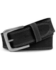 Timberland Pro Men's Black Boot Leather Belt, Black, hi-res