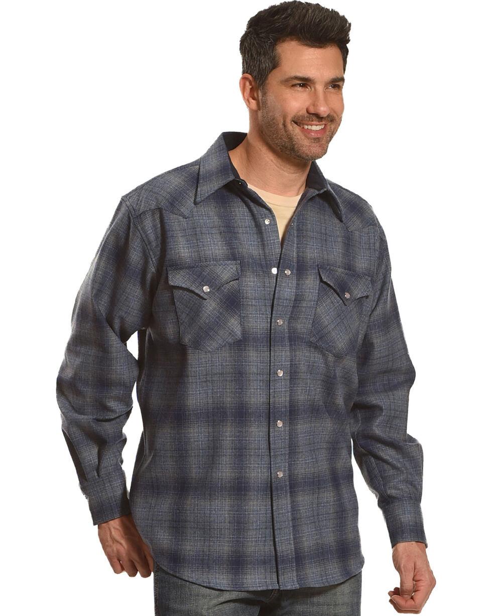 Pendleton Men's Blue Canyon Ombre Long Sleeve Shirt, Blue, hi-res