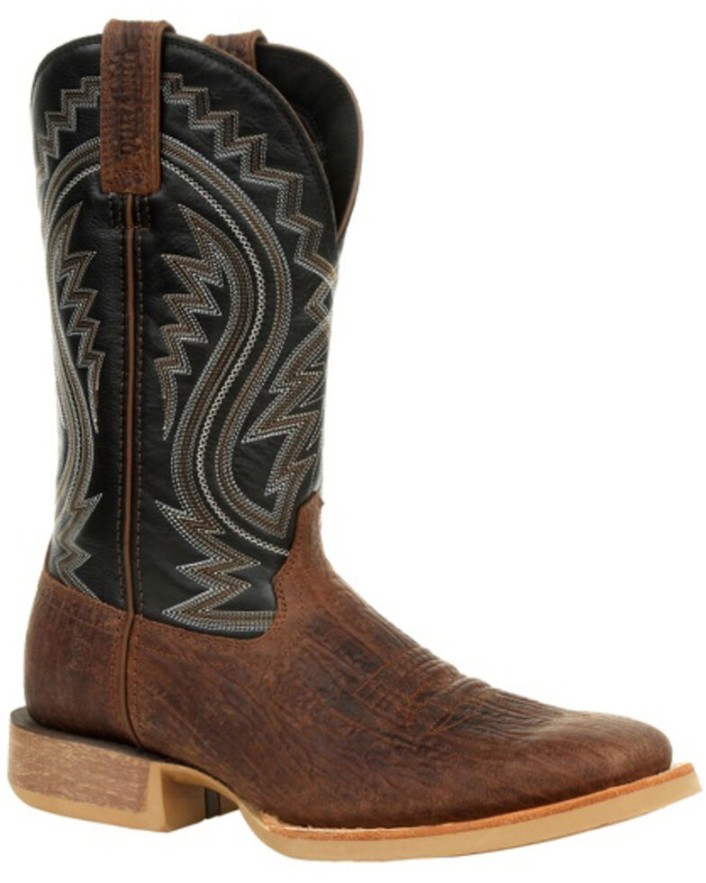 Durango Men's Rebel Pro Acorn Western Boots - Square Toe, Brown, hi-res